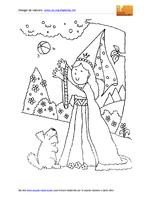 Principessa giocosa for Giullare da colorare