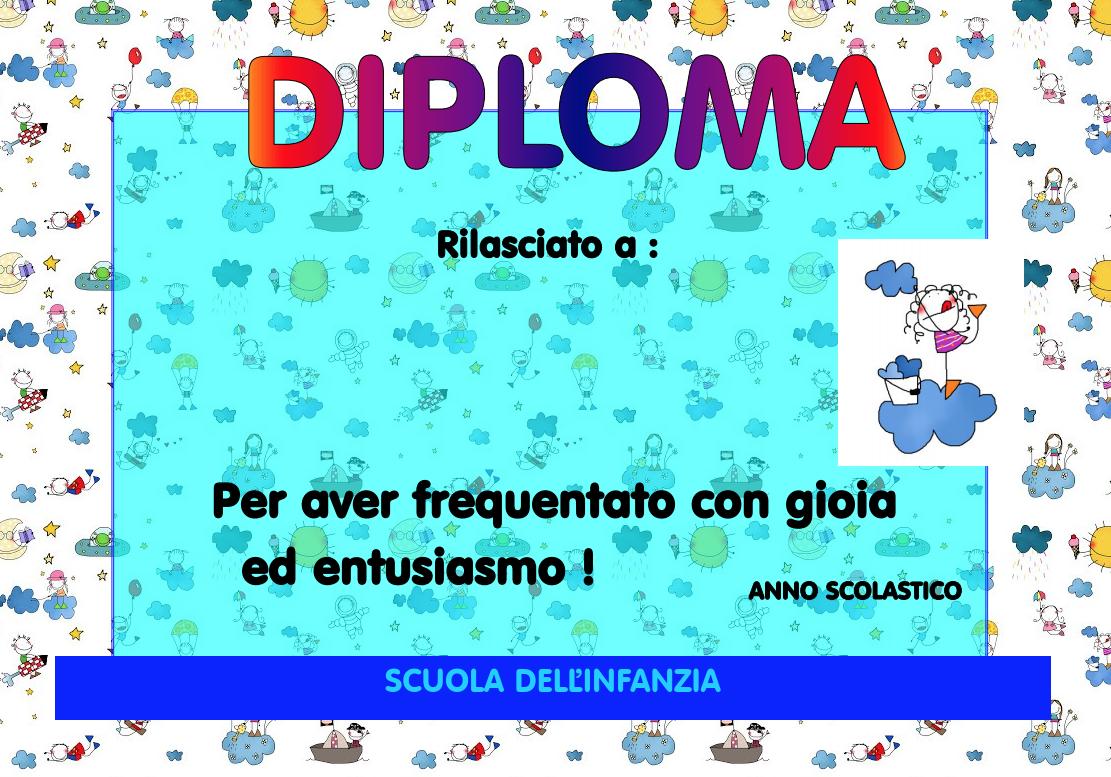 Diploma fine anno