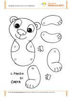 Cartamodello  del Panda
