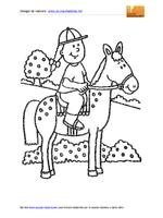 Cavallo Bambina 01