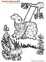 Coniglietta Altalena