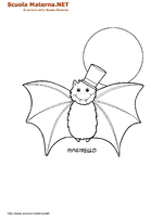 Pipistrello Con Cappello