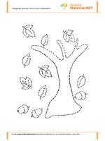 Pregrafismo albero autunno