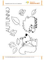 Pregrafismo scoiattoli