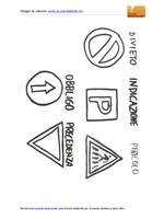 Cartelli stradali forme significato