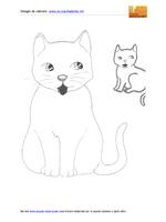 Gatto grosso e piccolo