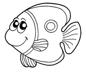 Pesce 03 for Pesci da colorare per bambini
