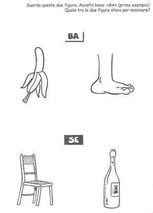 Fonologia sillaba BA e SE