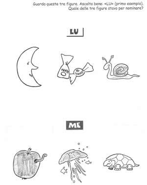 Fonologia sillaba LU e ME