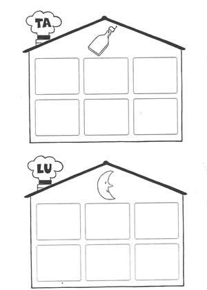 La casa delle sillabe TA e LU