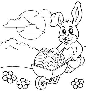 Coniglio con cariola
