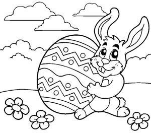 Coniglio con uovo