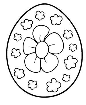 Uovo da colorare 03