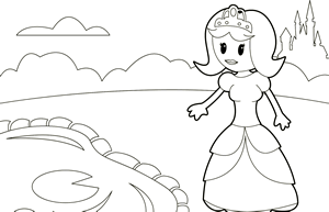 Principessa allo stagno