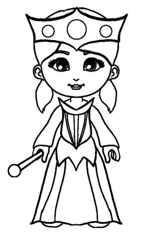 Principessa corona