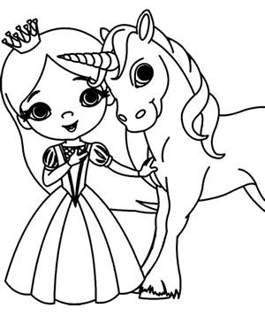 Principessa unicorno